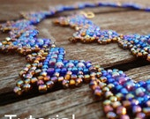 Hearts Necklace Beadwork Pattern/Tutorial - Instant Download