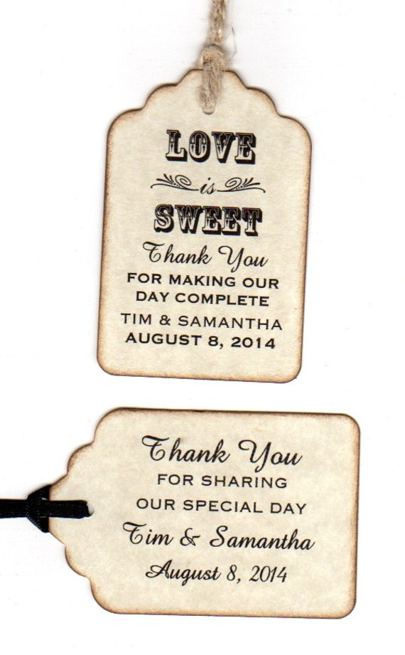 Examples Of Wedding Favor Tags : favorite favorited like this item add it to your favorites to revisit ...