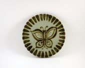 Ken Edwards Butterfly Trivet -- Tonala Mexico