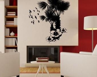 Vinyl Wall Decal Sticker Tropical Nature 1214B