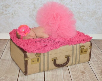 Hot Pink Baby Tutu, 1st Birthday Tutu, Hot Pink Tutu, Girls Tutu, Baby Girl Tutu, Infant Tutu, Newborn Tutu Skirt, Toddler Tutu, Photo Prop