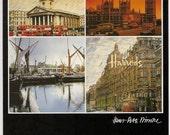 London Souvenir - Vintage Postcard - English Souvenir