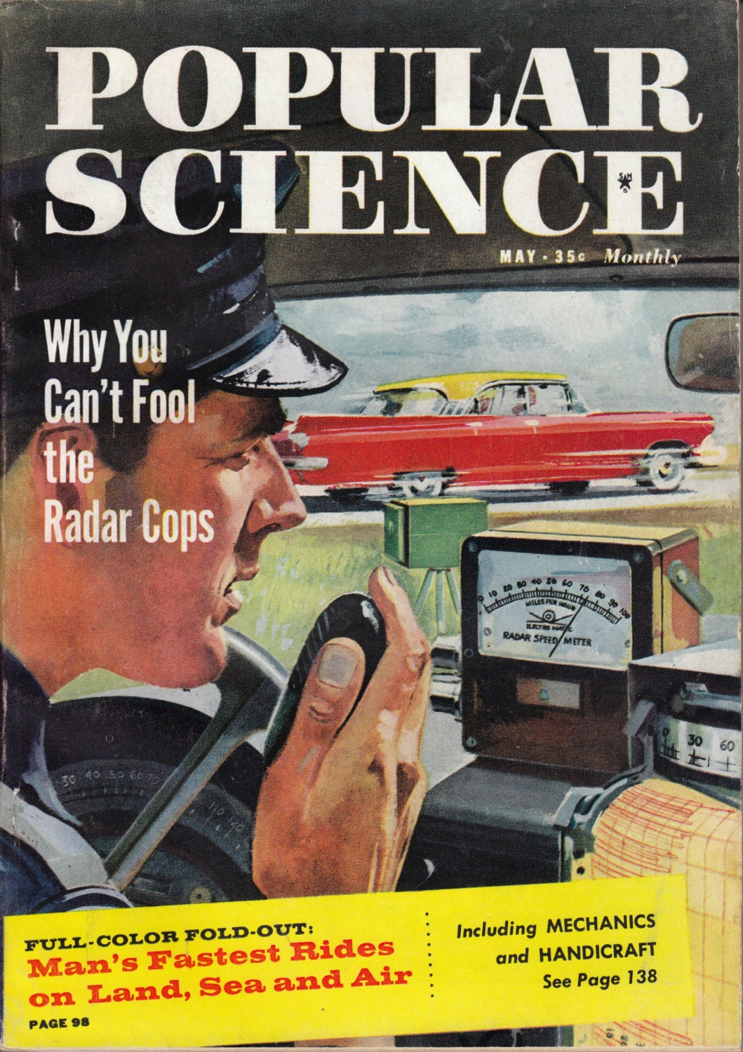 science magazine popular 1959 issue shipping