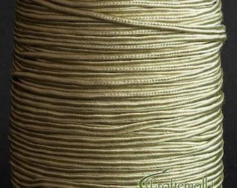 Soutache braid - Rayon flat 2.5mm soutache cord - celery (ST1110) - 3 meters