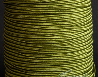Soutache braid - Rayon flat 2.5mm soutache cord - ivy (ST1130) - 3 meters