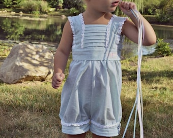 "Girl Romper/Dress PDF Pattern - The ""Hope"" Sewing Pattern"