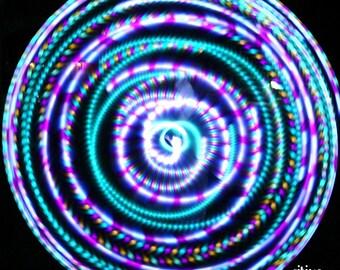 ORCHID Strobe LED Hula Hoop
