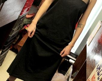 SALE - 90s Mesh Top Athletic Dress - Medium