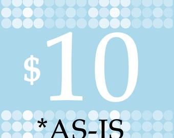 Sale: 10USD AS-IS
