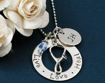 Live Love Heal - Nurse - RN Necklace