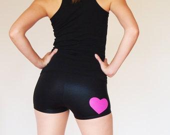 Shiny Heart Roller Derby Shorts - Pre-Order