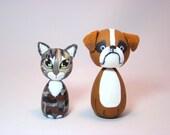 custom kokeshi doll pet