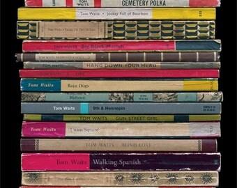 Tom Waits 'Rain Dogs' Poster Print Album As Penguin Books Literary Print