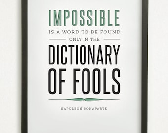 impossible is a word only to This video shows who true it really is that nothing is impossible put 7 minutes  aside to be inspired by this amazing video impossible is just a big word.