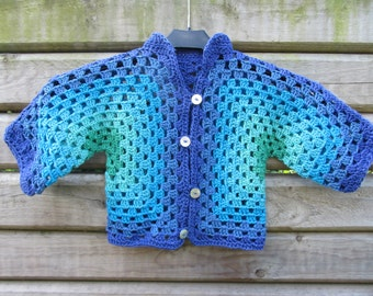 Cool Waters Baby Jacket (9-12 months)