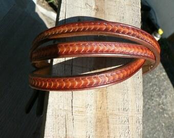Ladies belt , custom leather belt , British tan belt , thin belt , dress belt , fashion belt