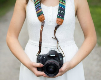 iMo Eyes Camera Strap suits for DSLR / SLR with Quick Release Buckles