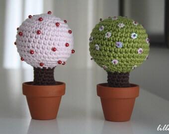 PATTERN - amigurumi Magic Tree, crochet home decor