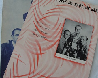 The Pied Pipers sheet music from the mid 40's