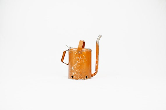 Swingspout 5 Quart Oil Can with Copper Finish