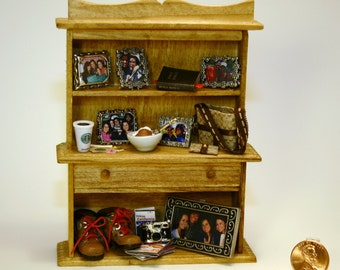 Personalized Miniature Shelves For Any Occasion- One Inch Scale
