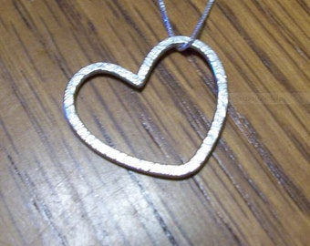 Heart Necklace - Love Jewelry - Silver Jewelry
