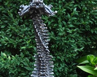 Helix Ossuary Candlestick Holder
