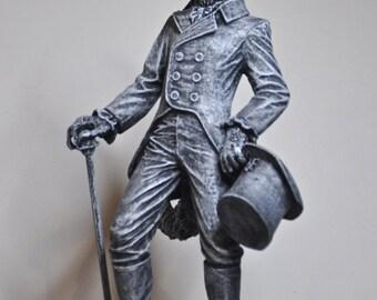 Gentleman Wolf Statue