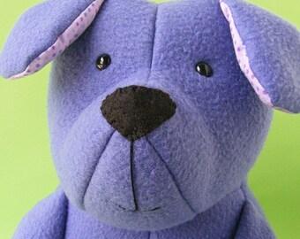 Puppy Dog PDF Sewing Pattern (softie, plushie, stuffed animal, stuffie, stuffed toy)