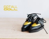 20% OFF - GOTALL doll handmade HARAJUKU style Shoes for Blythe doll - doll shoes - Yellow