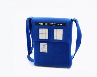 Doctor Who Messenger Bag TARDIS Messenger Bag