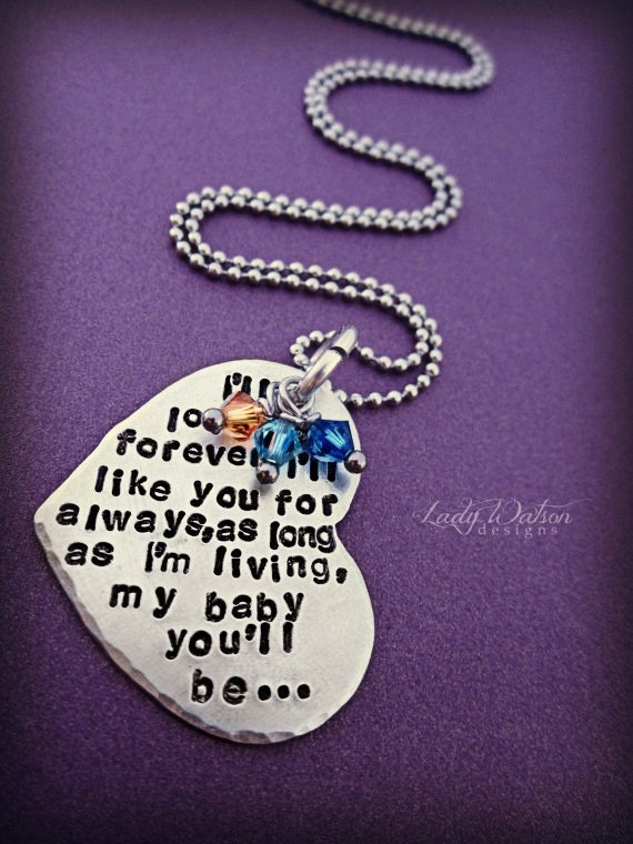 Mothers Day I'll Love You Forever Book Quote by ...