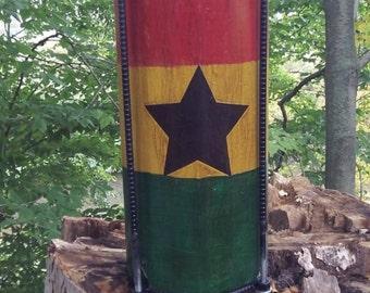 Nyabinghi Black Star Kette Drum
