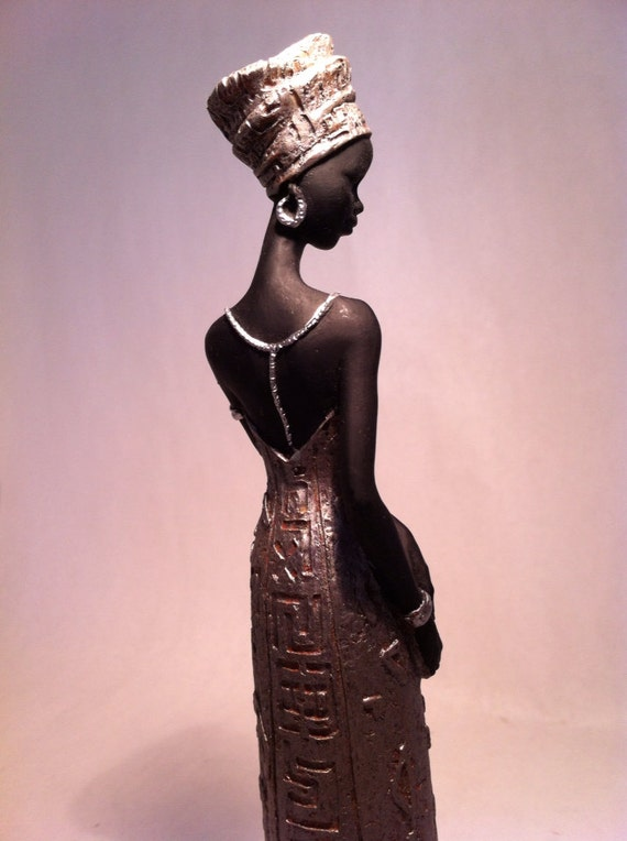 Tribal Home Decoration African Ethnic Sculpture of Maasai