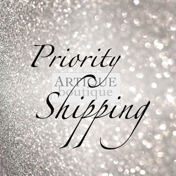 International Priority Shipping Upgrade via 'Airsure'