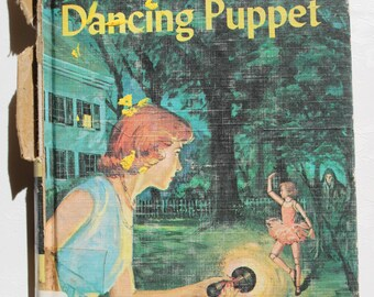 """Vintage Nancy Drew """"The Clue of the Dancing Puppet"""""""