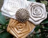 Rustic flower girl headband,toddler headband,newborn headband,wedding headband,baby girl headband,champagne headband