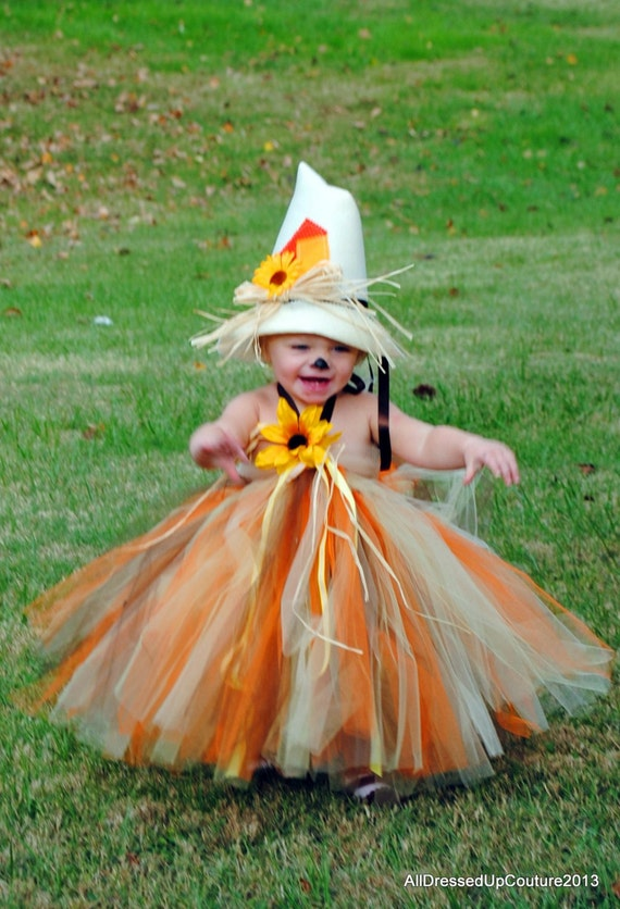 Scarecrow Tutu Dress Halloween Costume for Baby