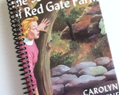 NANCY DREW JOURNAL book notebook Recycled Upcycled Spiral Bound The Secret of Red Gate Farm Carolyn Keene