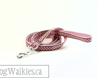"Matching Dog Leash for 1/2"" (12mm) Wide // Dots // Leopard Print// Plaid // Aztec // Shamrocks // Houndstooth"