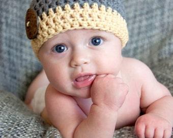 boys hat, baby hat, baby boy hat, newborn hat, newborn boy hat, crochet baby hat