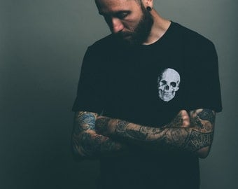 Skull on Black /  Fair Labor Men's Unisex T-shirt