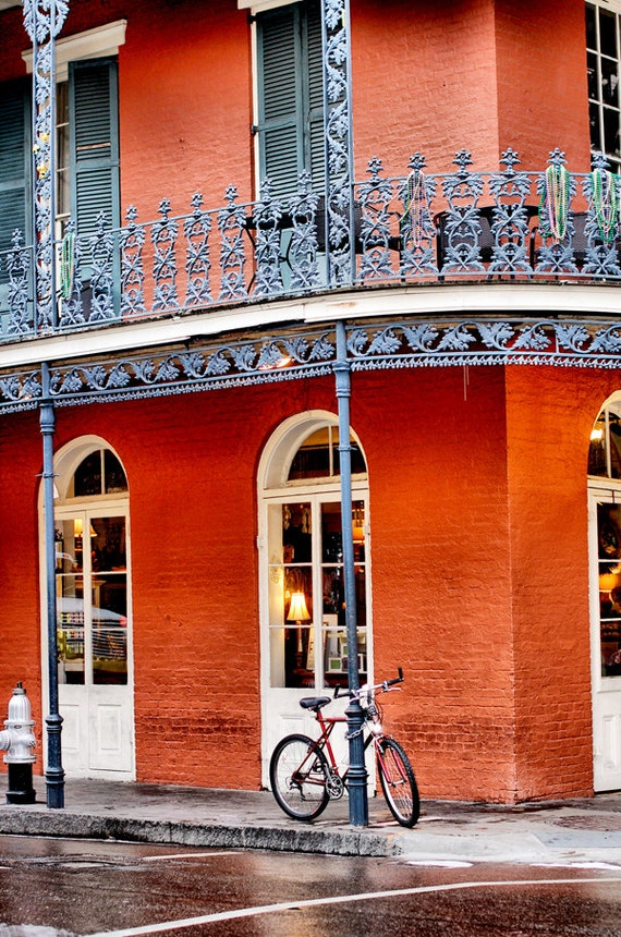 Bicycle Art New Orleans Photography Fine Art Print Home