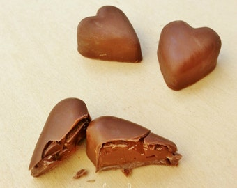Chocolate Hearts Filled Nutella (12)