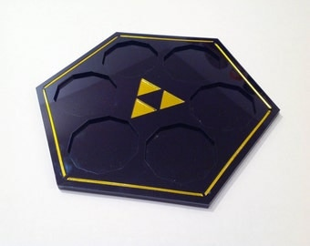 Zelda Sage Temple Plaque for Chinook Crafts Sage Medallions