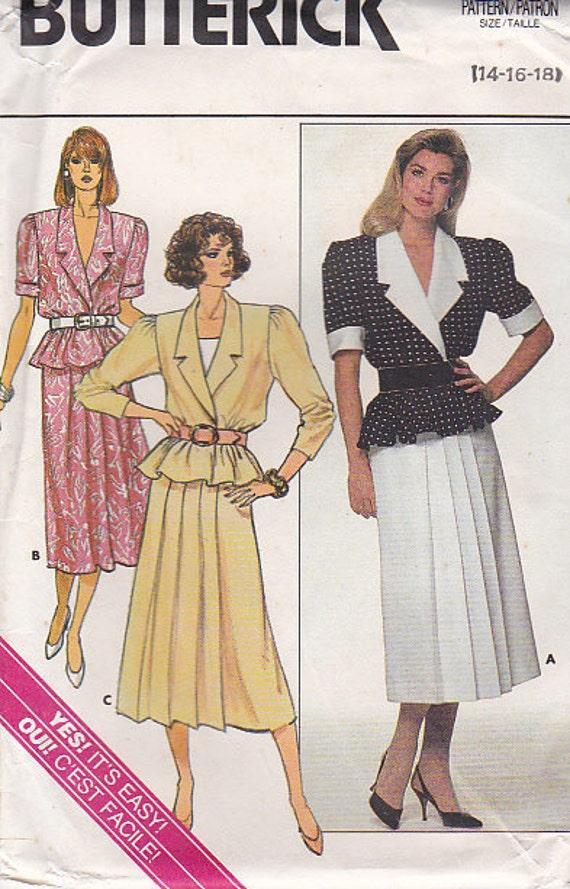 1980s Butterick...