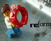 Single Wide Ring made out of LEGO(R)