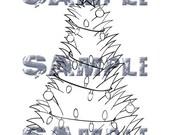Doodle Head Digi Stamp - Jubilee