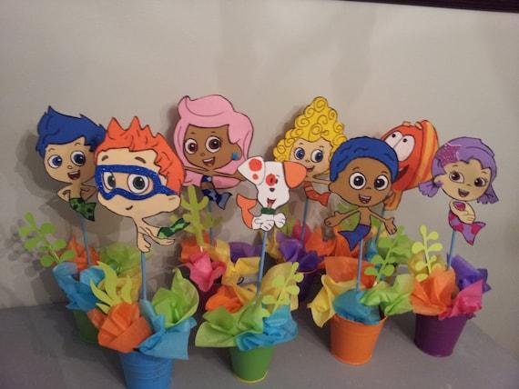 8 foam bubble guppies centerpieces party decoration - Bubble guppies party favors ideas ...
