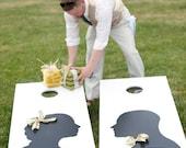Custom Cornhole Set - Personalized Silhouettes